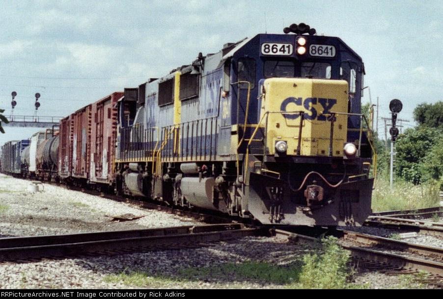 CSX 8641.