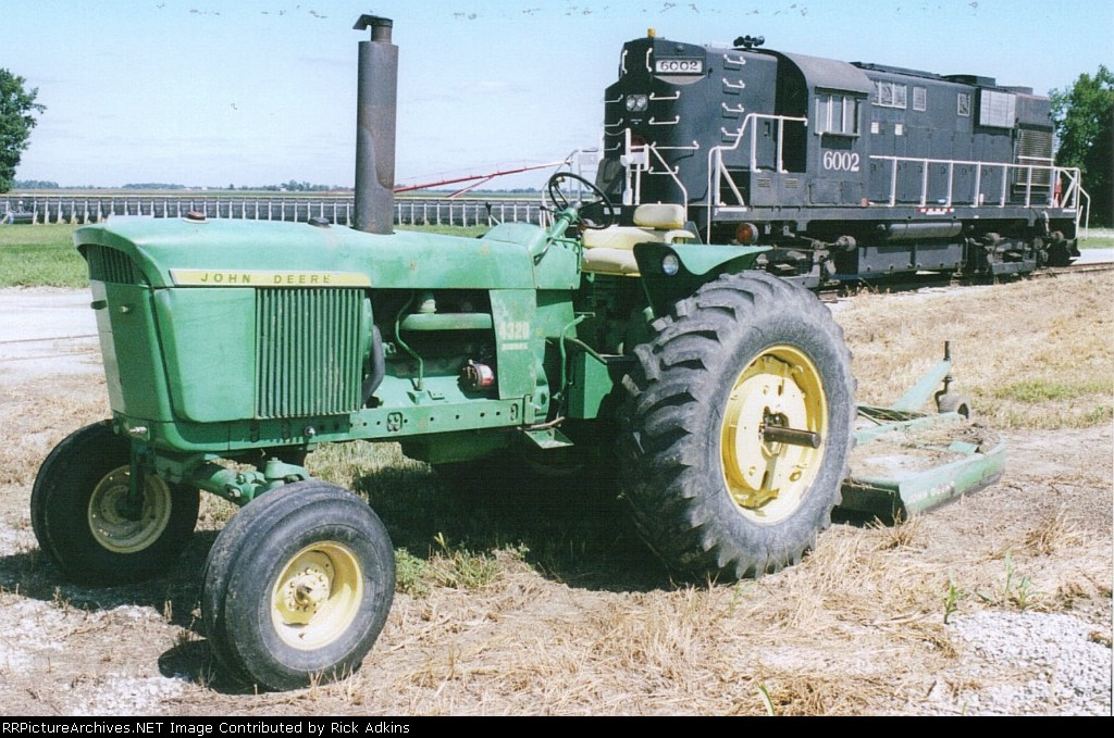 Indian Creek 6002 and JD 4320