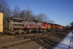 NS H07 with BNSF and ex ATSF power today