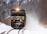 NS 9135 blowing snow