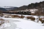 NS 532 rolls east