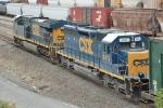 CSX 8413 & 899