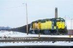 C&NW GP40 5513