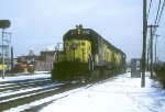 C&NW SD40 870