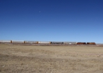 N/B BNSF Train