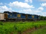 CSX 4684 & 4687 on O808-15