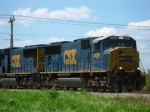 CSX 4690 leads O840-15 south on the Brewster Subdivision