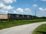 CSXT 4690 & 4686. Power on today's O840