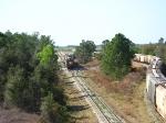 Unknown train working 3-Post yard