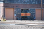 BNSF 6909 Rolling Into Shop