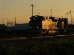 FEC Train 222 departs from Hialeah Yard