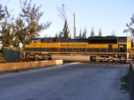 FEC 103 leads train 222 out of Hialeah Yard