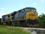 CSX 5321 leads O721 westbound on the GPC Spur