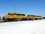 9,000 hp and 249,000 lbs. c.t.e. is needed to pull a typical 15,000 ton FEC rock train