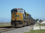 CSXT 4510 leads CSXT 38 on today's O721 past MIA on the Lehigh spur