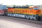 BNSF 6648 heads west with the Z CHI-LAC as the lead DPU unit.