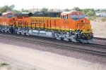 BNSF 6650 and BNSF 6648 pass me by as they roll west on their First Run West.
