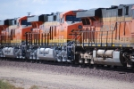 19 hours later BNSF 6650 and BNSF 6648 return eastbound as the # 2 and # 3 units on this eastbound Z Train.