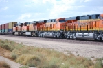 BNSF 6648 with BNSF 6650 in the lead roll east with a Z-Train.
