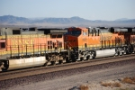 BNSF 6638 rolls westbound as the # 2 unit pulling a westbound Z-Train.