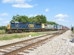 CSX Train Q604 leaving the yard