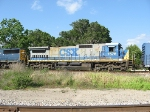 CSX 7576, trailing unit on Q604
