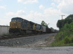 CSX 5391 leading Q453 south on the Auburndale Sub
