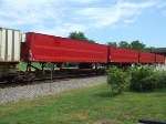 More red trailers