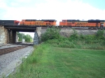 BNSF 6329 and 9342