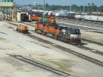 NS 9665 and BNSF 4392