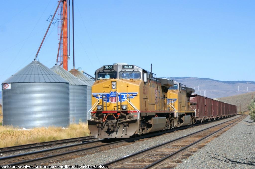 Bye-Bye ballast train