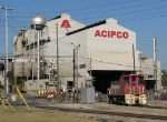ACIPCO Plant switcher heading back inside.