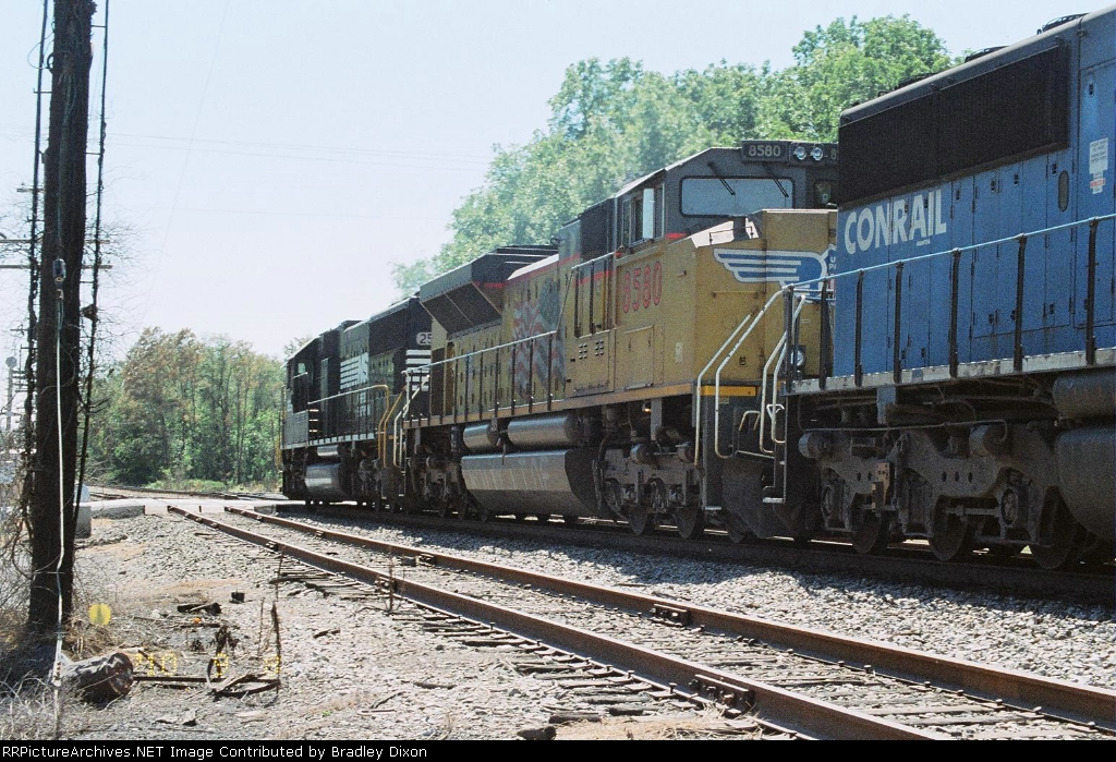 NS 2526 and UP 8580