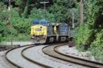 CSX 512 and CSX 510 around cruve