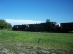 SP 309 on eastbound UP loaded coal train