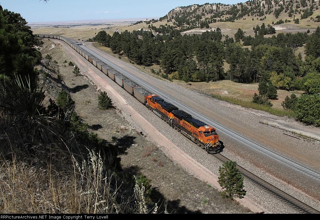 N/B BNSF Train