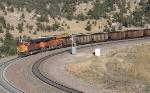 S/B BNSF Train with DPU/Helpers