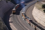 N/B & S/B BNSF Train's