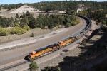 N/B BNSF Train DPU's