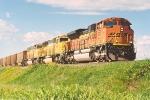 Eastbound coal loads