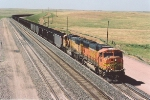 Southbound coal loads