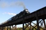 UP 3985 Missouri River Eagle EB