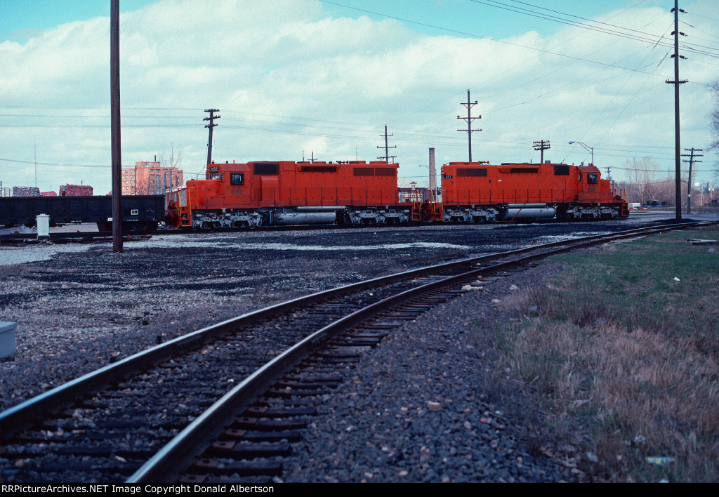 EJE SD38-2's at Jay tower