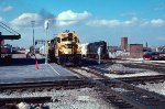 Santa Fe and IC freight