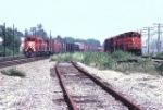 CN and CP westbounds