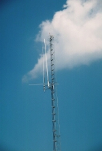 Railroad radio tower