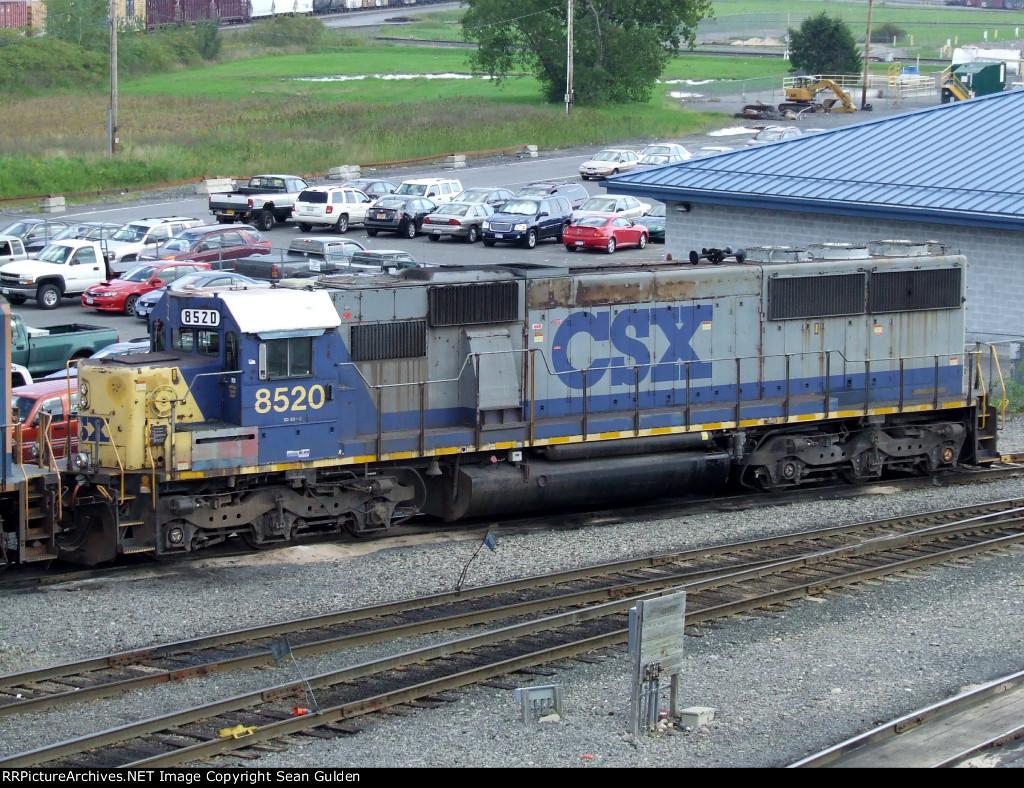 CSXT EMD SD50-2 8520