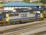 CSXT EMD SD60 8787