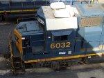 CSXT EMD GP40-2 6032
