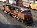BNSF GE C44-9W's 5244 & 998